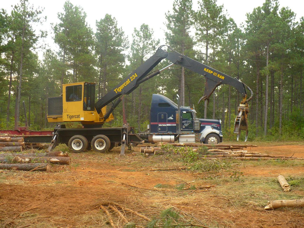 Equipment :: 2007 Tigercat Knuckleboom Log Loader ...