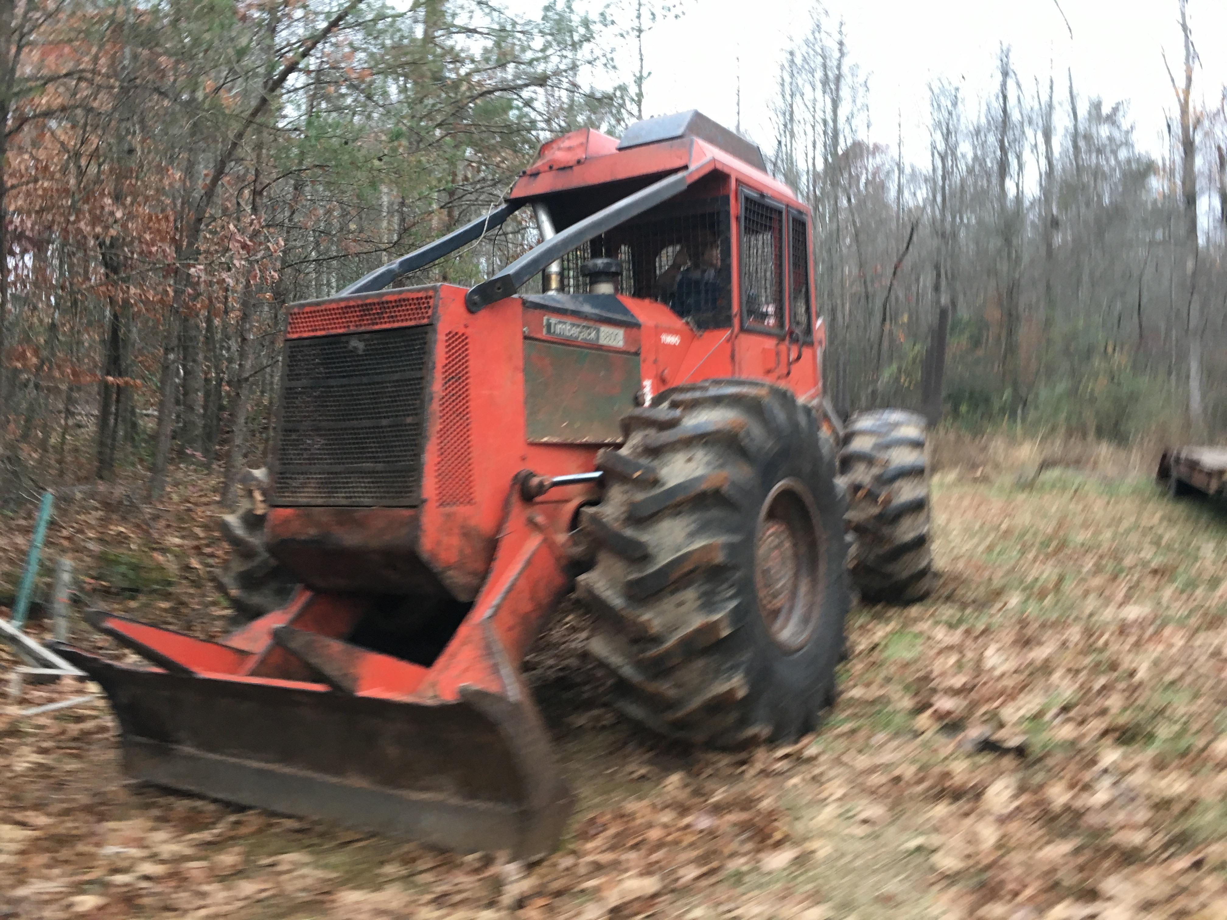 Equipment :: Timberjack 380c Log Skidder :: Lanier Equipment